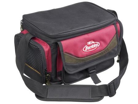 Berkley Torba Wędkarska System Bag Red-Black + 4 Boxes