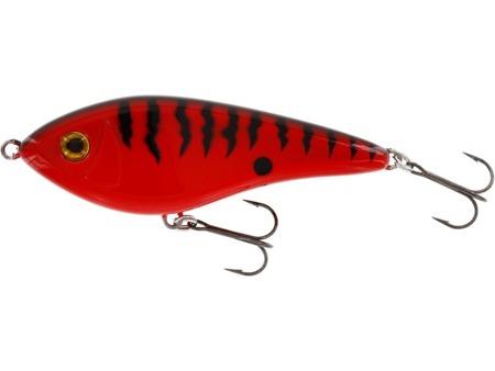 Jerk Westin Swim Glidebait 12cm 58g Sinking Red Tiger 1szt