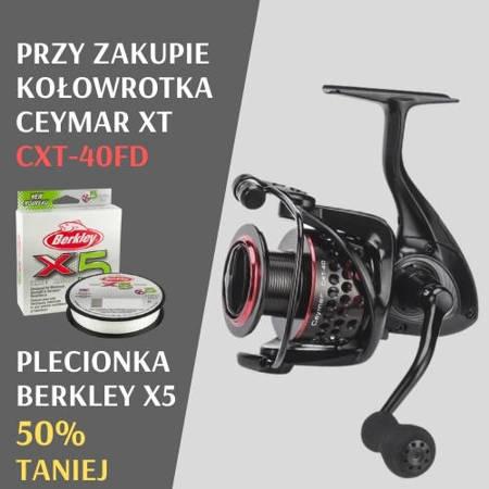 Promocja! Zestaw Okuma Ceymar XT CXT-40 + Plecionka Berkley 50% Taniej!