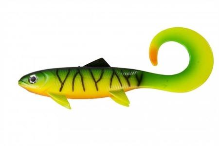 Przynęta Effzett Pike Seducer Curltail Loose Body 18cm 50g - Firetige