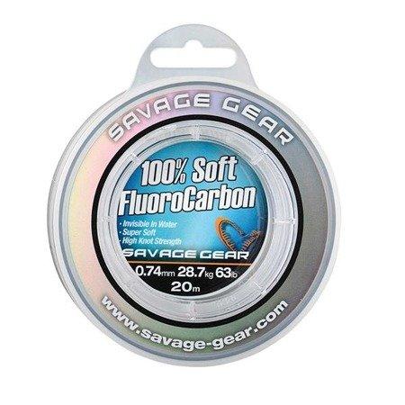 Savage Gear Fluorocarbon Soft 0.33mm 50m 7kg