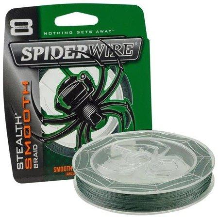 Spiderwire Plecionka Stealth Smooth 8 Moss Green 150m 4.535kg 0,12mm