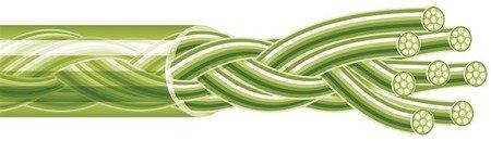 Spiderwire Plecionka Stealth Smooth 8 Yellow 150m  29.483kg 0,35mm