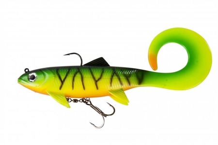 Swimbait Effzett Pike Seducer Curltail 18cm 85g - Firetiger