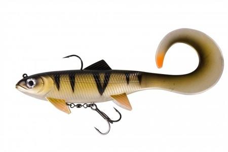 Swimbait Effzett Pike Seducer Curltail 18cm 85g - Perch