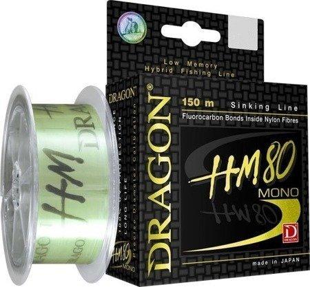 Żyłka Dragon Hm80 Pro 150 M 0.201 Mm/5.20 Kg Jasnozielona